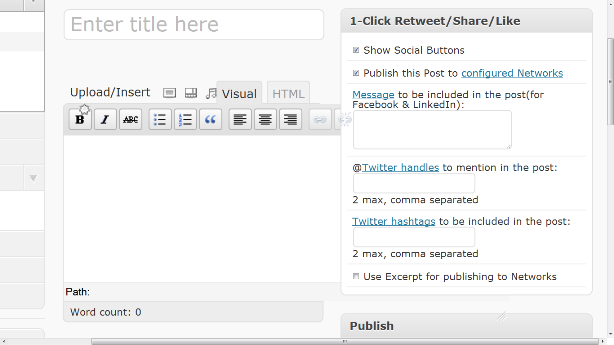 share blog posts automatically