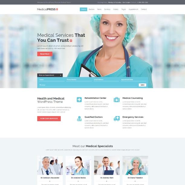 medical-press-theme