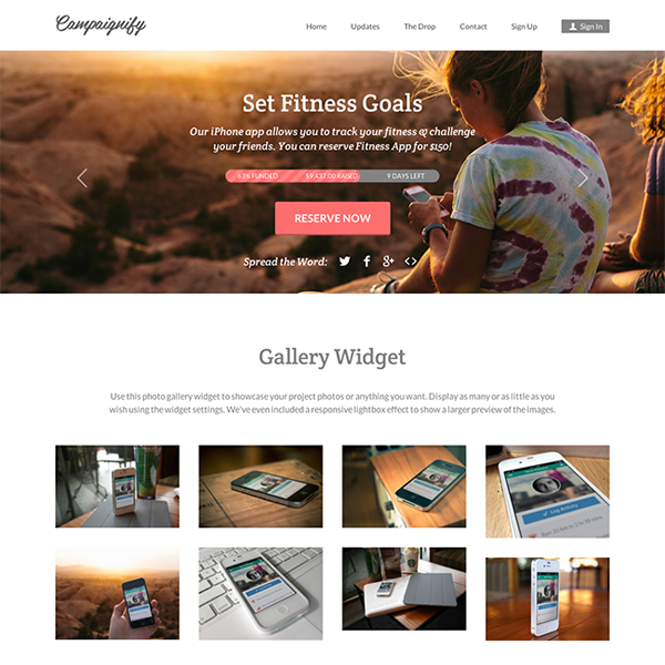 Campaignify WordPress Theme