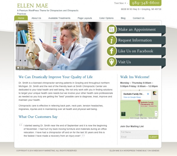 Ellen-Mae-WordPress-Theme