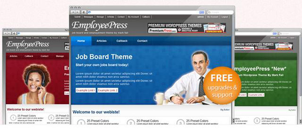 EmployeePress WordPress Theme
