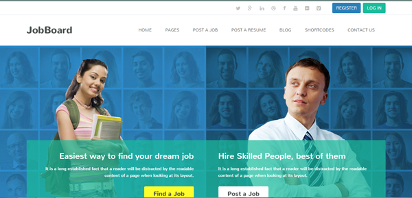 JobBoard WordPress Theme
