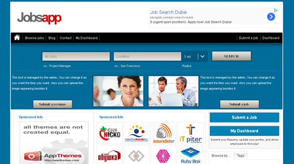 Jobsapp WordPress Theme
