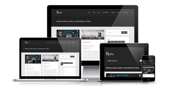 Nova Lite WordPress Theme