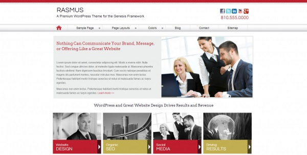 Rasmus-WordPress-Theme