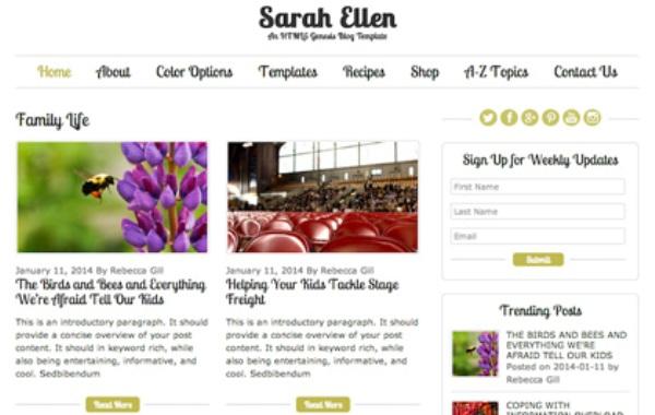 Sarah-Ellen-Genesis-Blog-Template