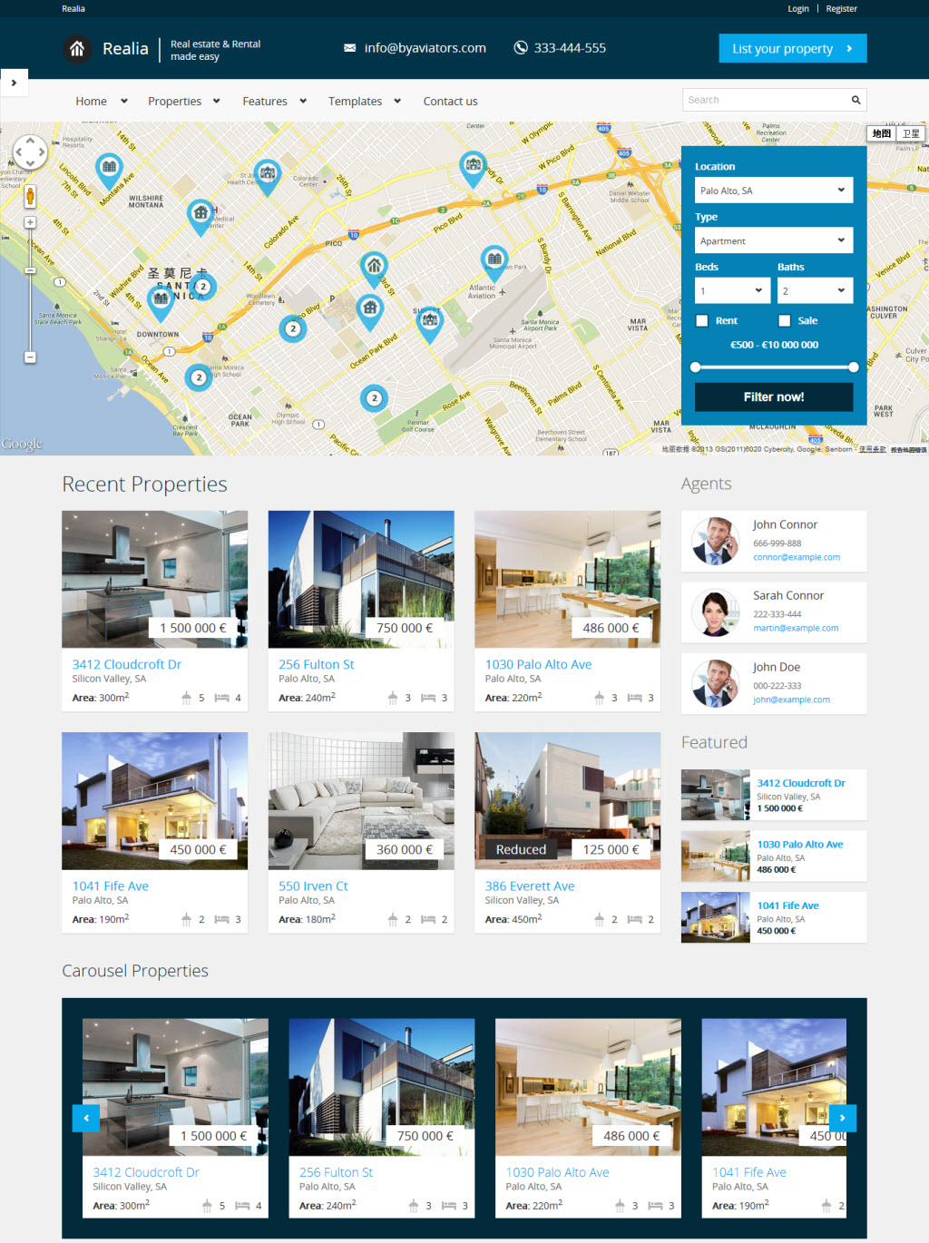 15+ Best WordPress Real Estate Themes for 2014