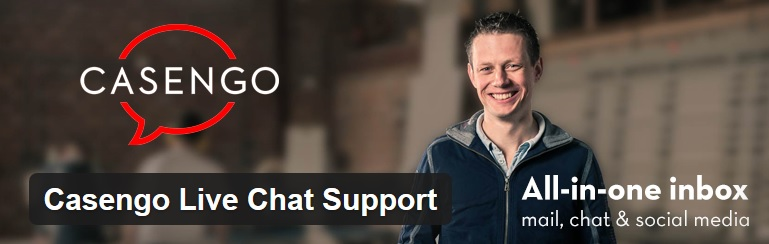 Casengo Live Chat Support plugin