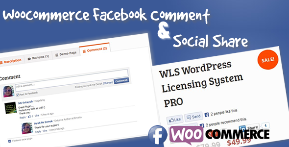 Facebook Comment for WooCommerce
