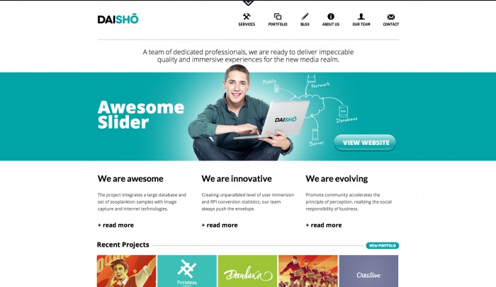 daisho-colorful-wordpress-theme