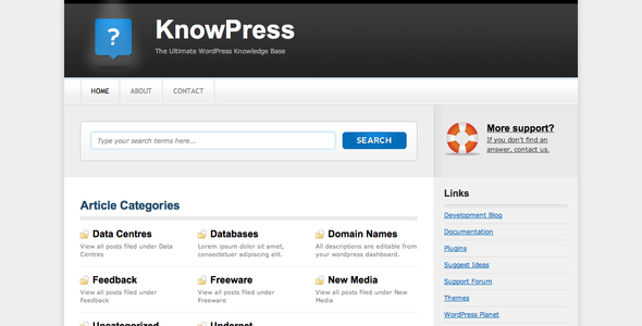 KnowPress Theme