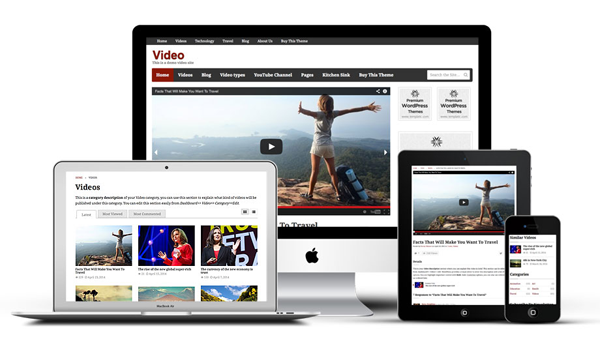 Video Templatic WordPress Theme