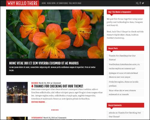 Why_Hello_There_Free_WordPress_Theme