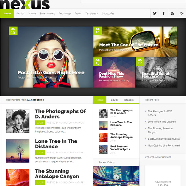 nexus-wordpress-theme