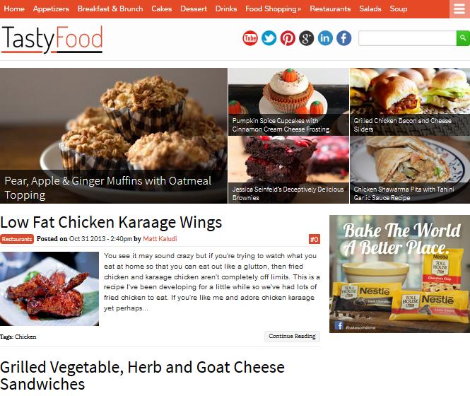 tastyfood-WordPress-theme
