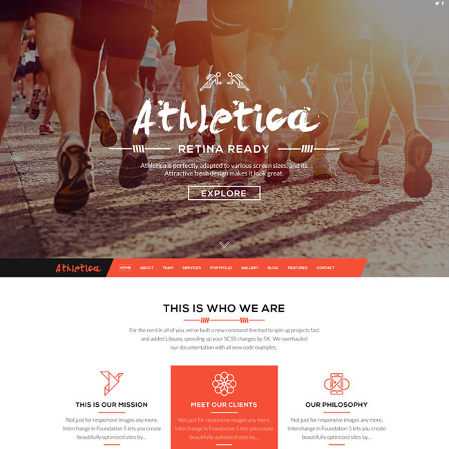 Athletica-WordPress-Theme