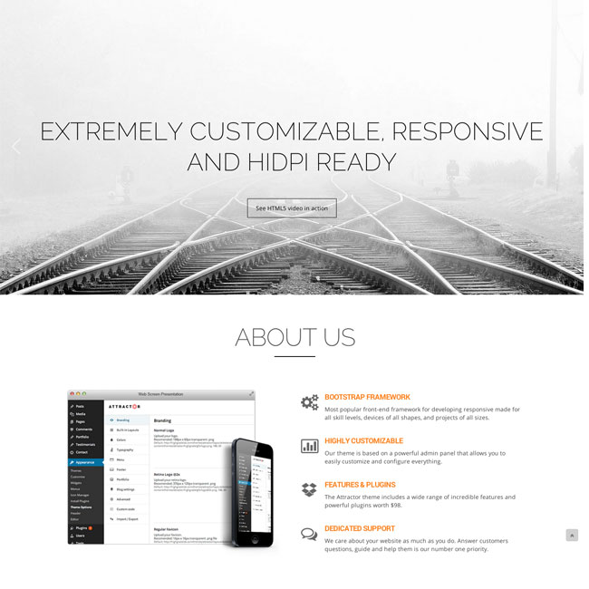 Attractor-WordPress-Theme