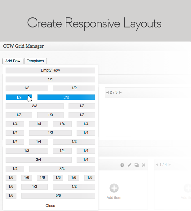 Create responsive layouts