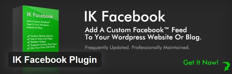 IK Facebook Plugin