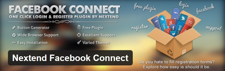 Nextend Facebook plugin