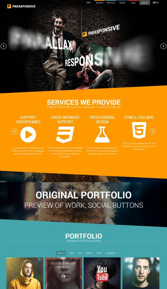 Parasponsive-Corporate-WordPress