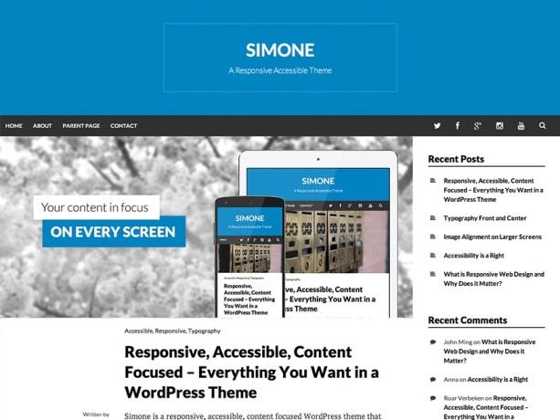 Simone Theme