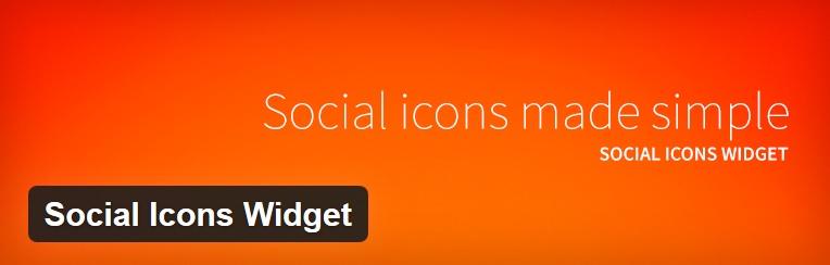 Social Icons Widget