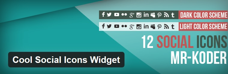 Social Media Widget Plugins for WordPress