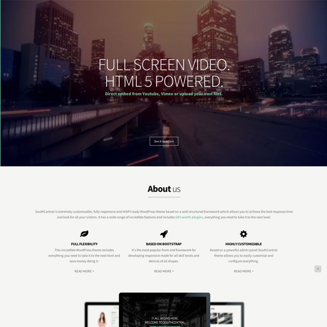 SouthCentral-WordPress-Theme