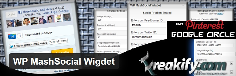 WP MashSocial Plugin