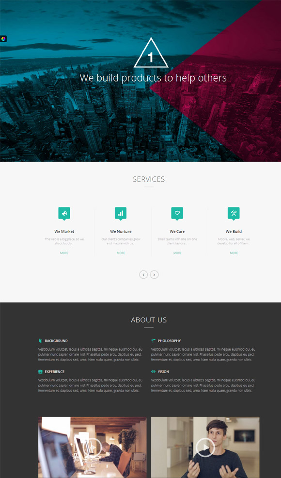 oneup-one-page-parallax-retina-wordpress-theme