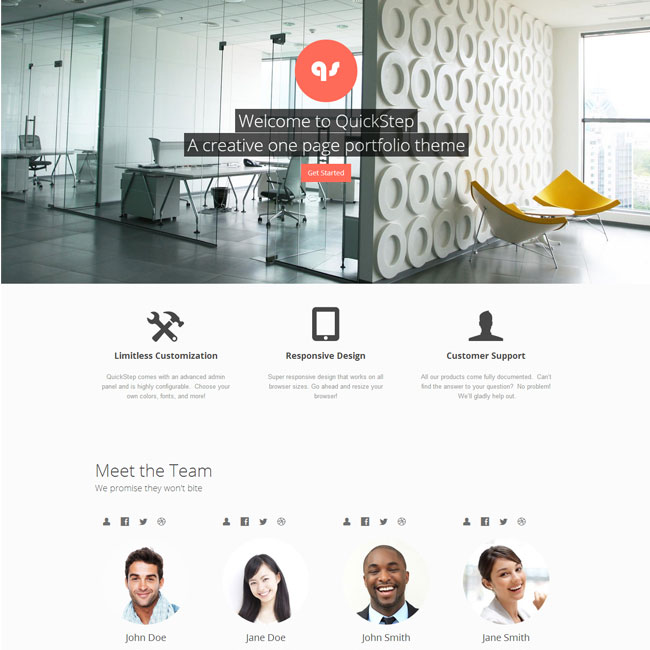 quickstep-wordpress-theme