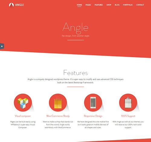 Angle-Flat-Responsive