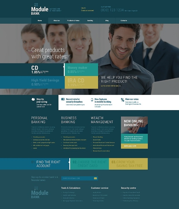 Cherry Framework based business WordPress themes