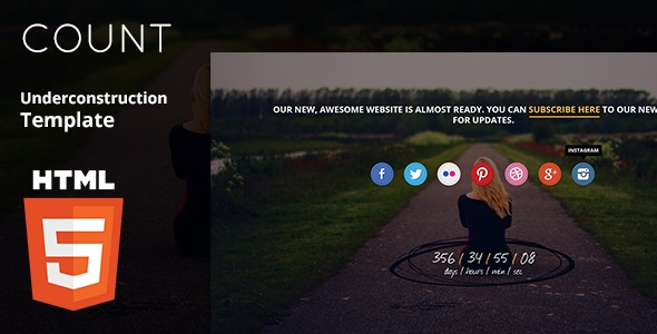 Count HTML5 Template
