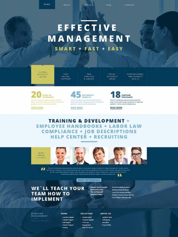Management Theme