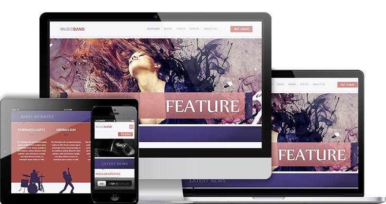 MusicBand WordPress theme