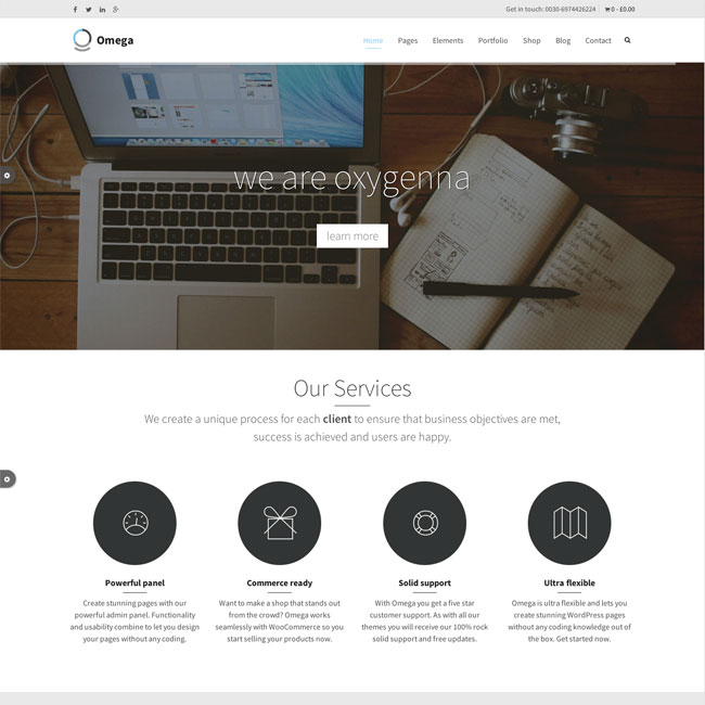 Omega-WordPress-Theme