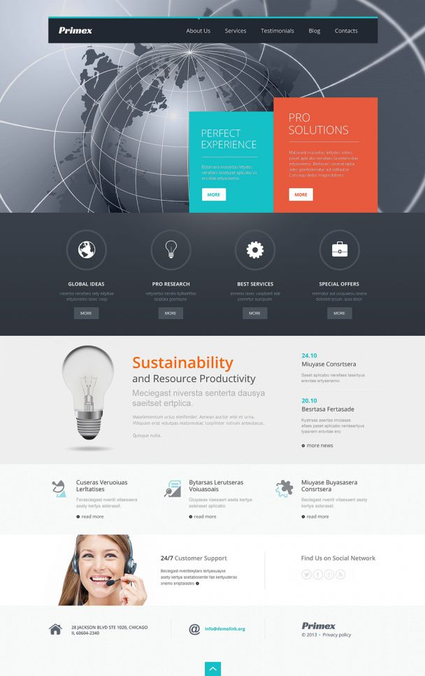 Outsourcing business theme