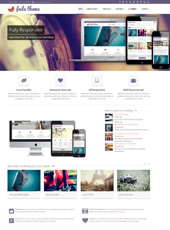 fade-responsive-parallax-bootstrap-wordpress-theme