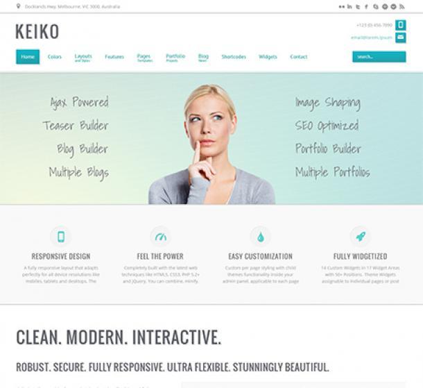 Keiko theme