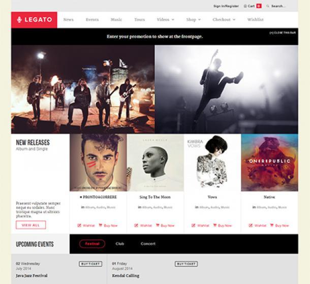 Legato SEO WordPress theme