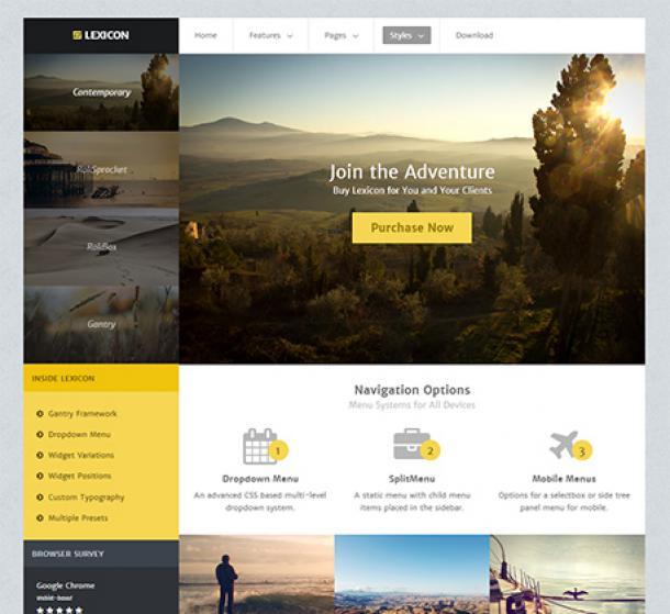 Lexicon SEO WordPress theme