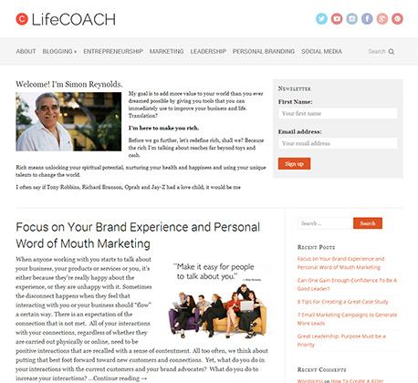 LifeCoach Theme
