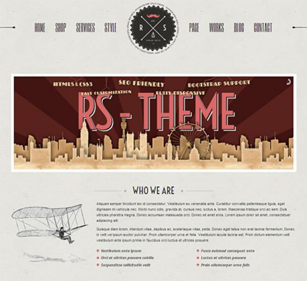 RS WordPress Theme