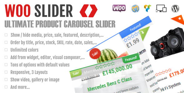 Ultimate Woo Commerce Product Slider