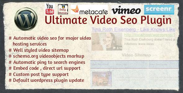 Video SEO Plugin