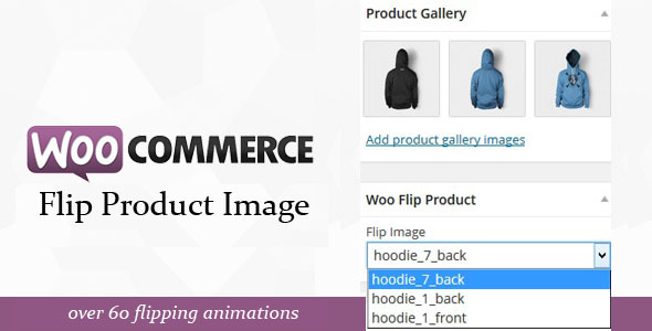 Woocommerce flip products