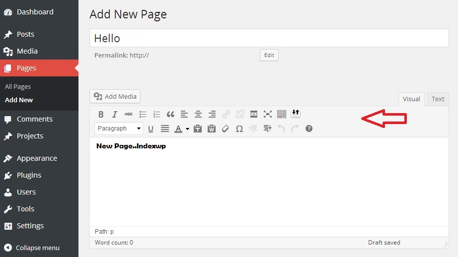 WordPress 4.0 Editor