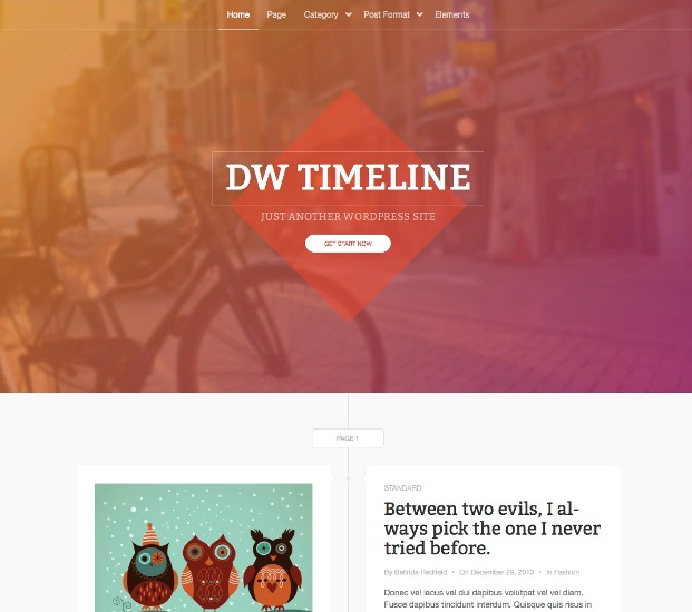 dw-timeline-blog-theme